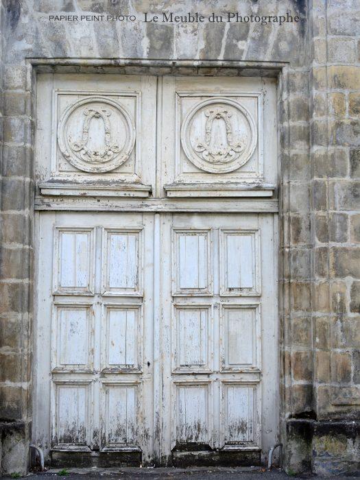 Porte blanche Bleau