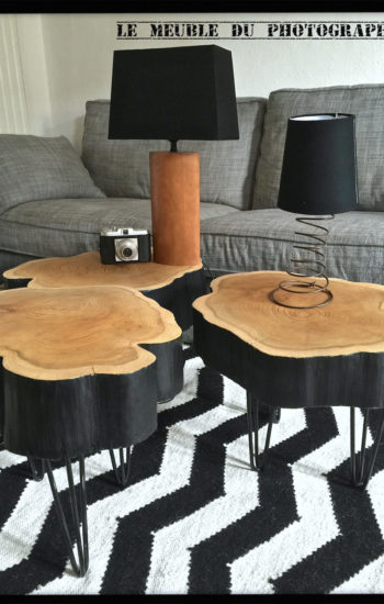 tables basses sur hairpin legs