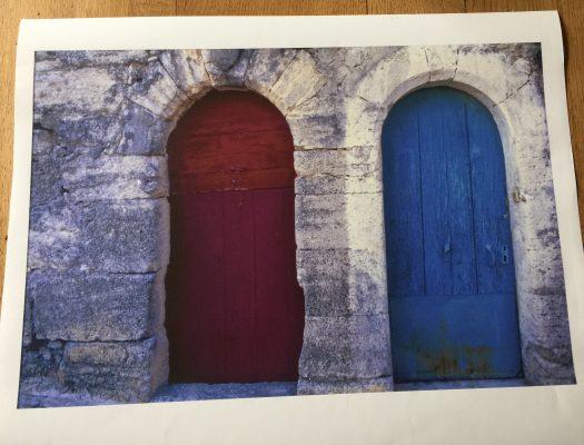 les portes du Lubéron