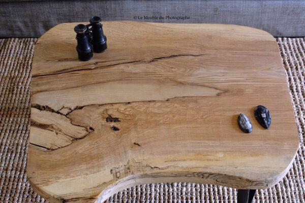plateau de frêne massif table