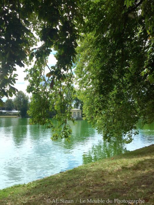 Fontainebleau, château étang