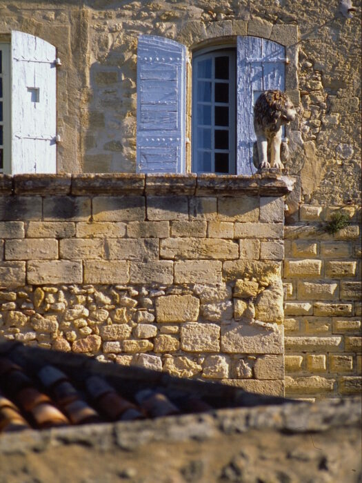 Lubéron, Ansouis, lion